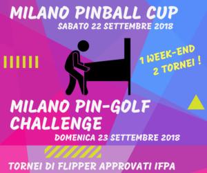 Milano Pinball Cup e PinGolf Challenge @ Milano Pinball Club