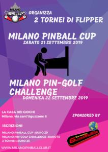 MILANO PINBALL CUP @ Milano Pinball Club